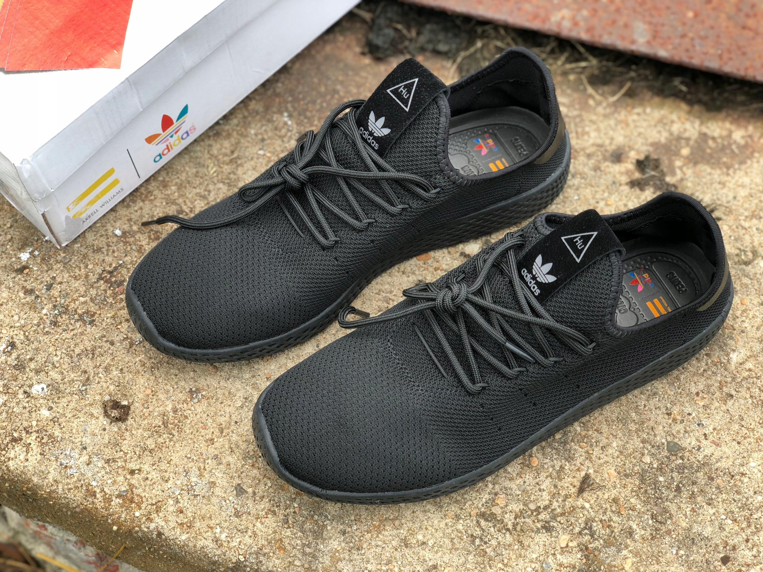 nowe style Gdzie mogę kupić nieźle BUTY ADIDAS PHARRELL WILLIAMS TENNIS HU 43 27cm - 7795927877 ...