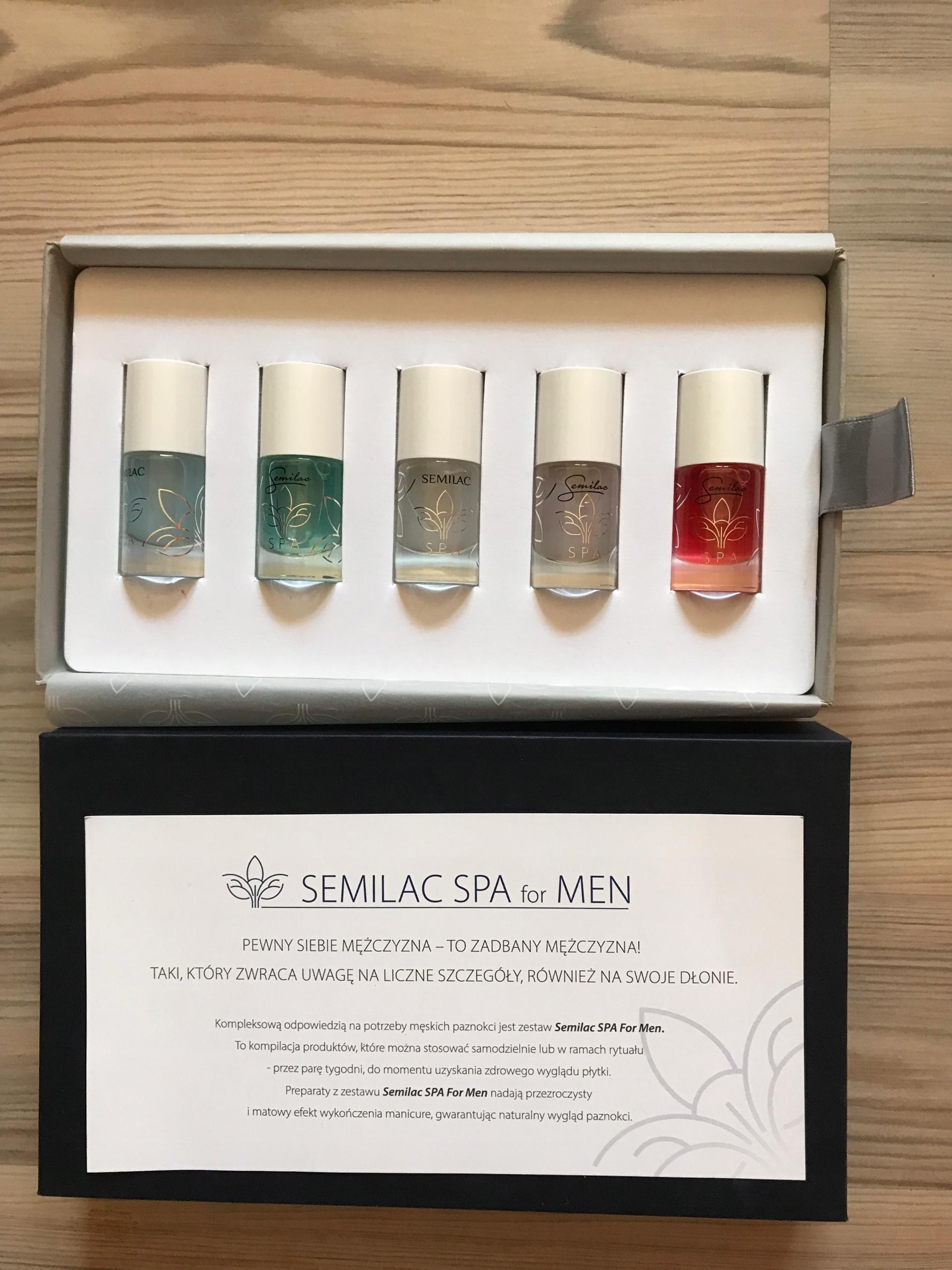 SEMILAC SPA FOR MEN - zestaw odżywek dla mężczyzn