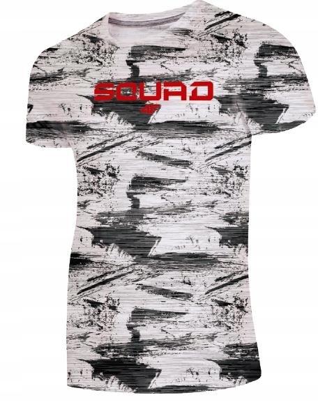 Męska koszulka 4F L19 TSM021 szary melanż # L