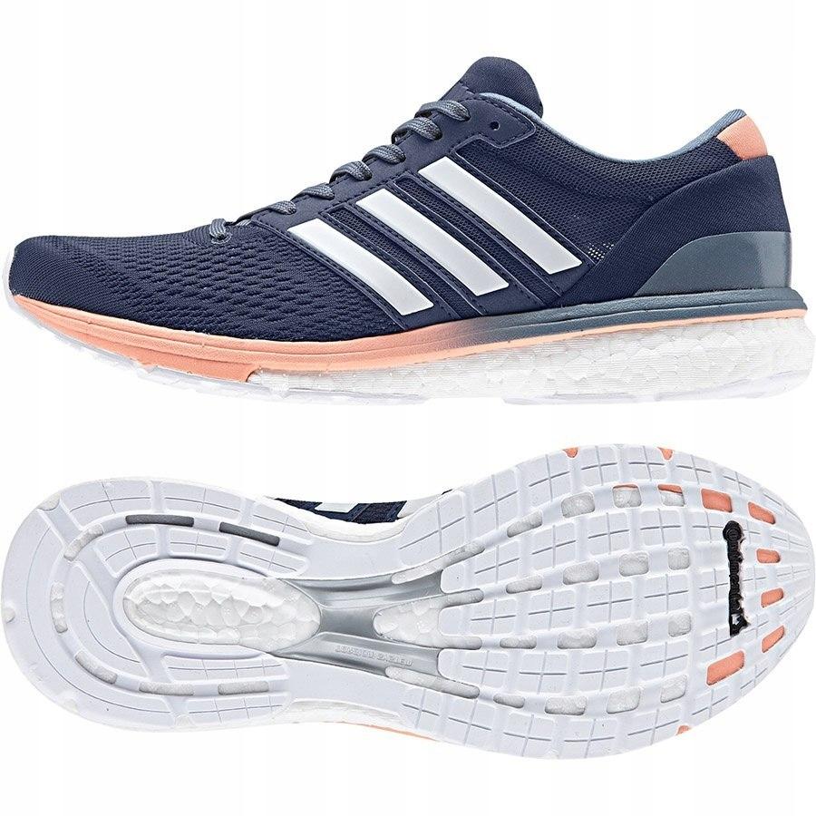Buty adidas adizero boston BB6418 40 2/3 niebieski