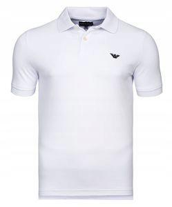 EMPORIO ARMANI biała koszulka polo PO63 r.L