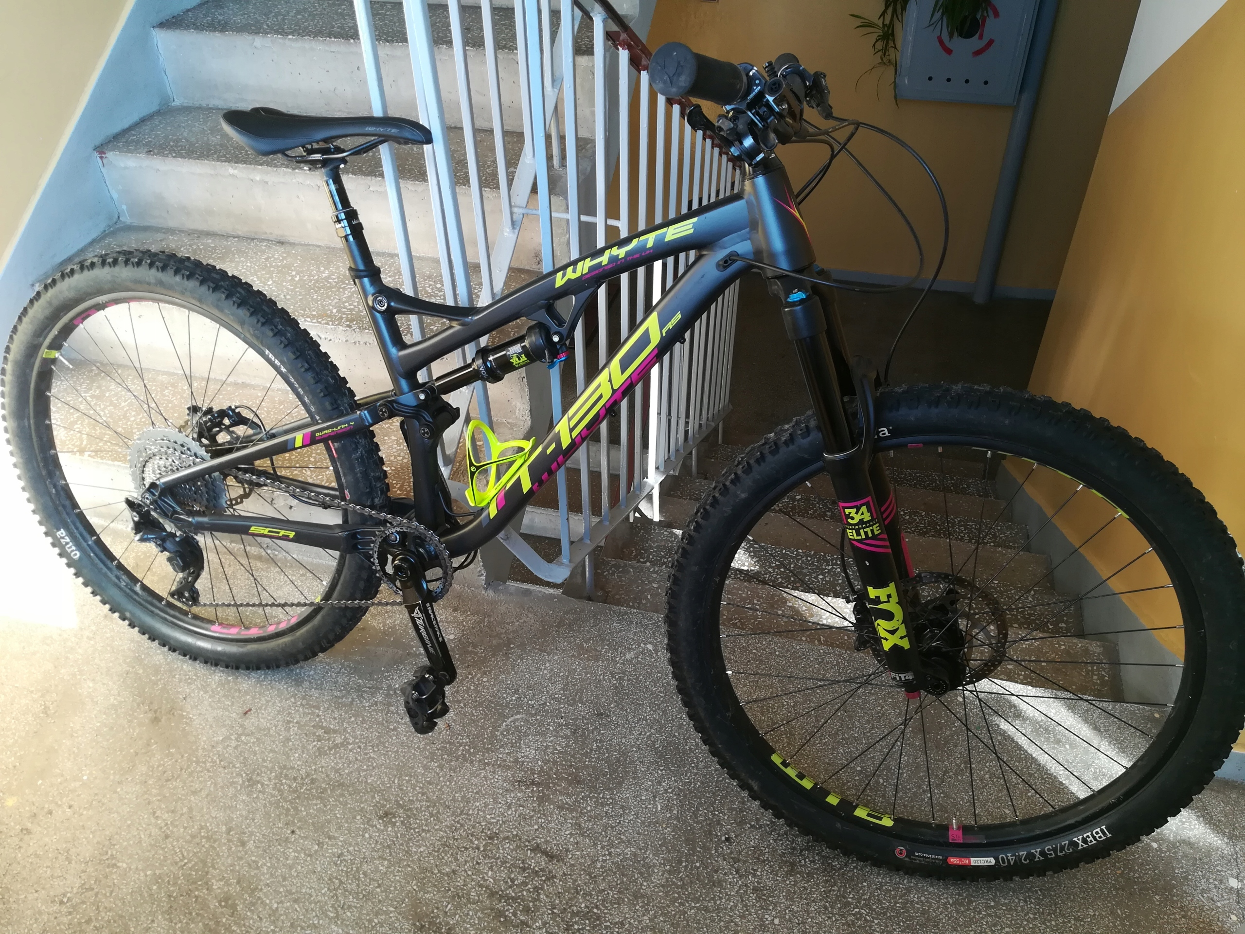 Rower enduro / all mountain Whyte T-130 RS rozm. S