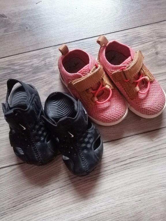 Sandały Nike 19.5 Adidasy Clarks 20