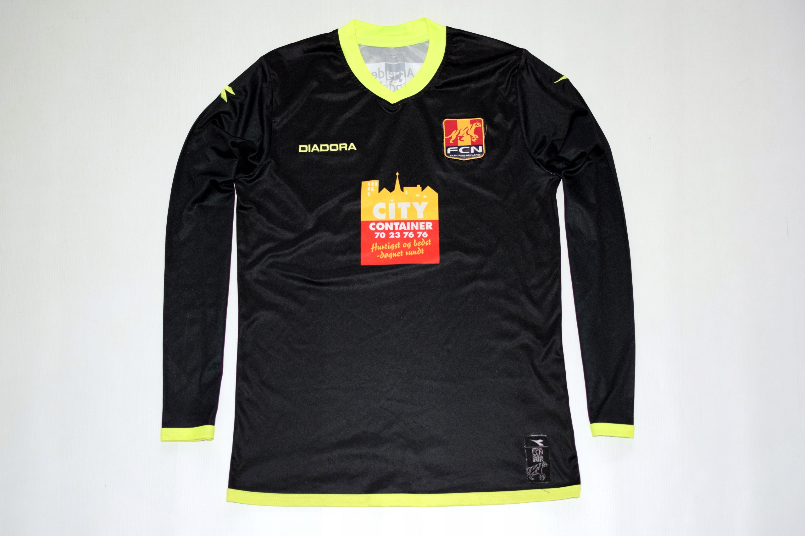 DIADORA _ FC NORDSJAELLAND _ Koszulka _ OLDSCHOOL