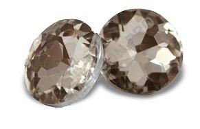 Brąz Guzik szklany szlif diamentowy fi18 Wys. 0zł