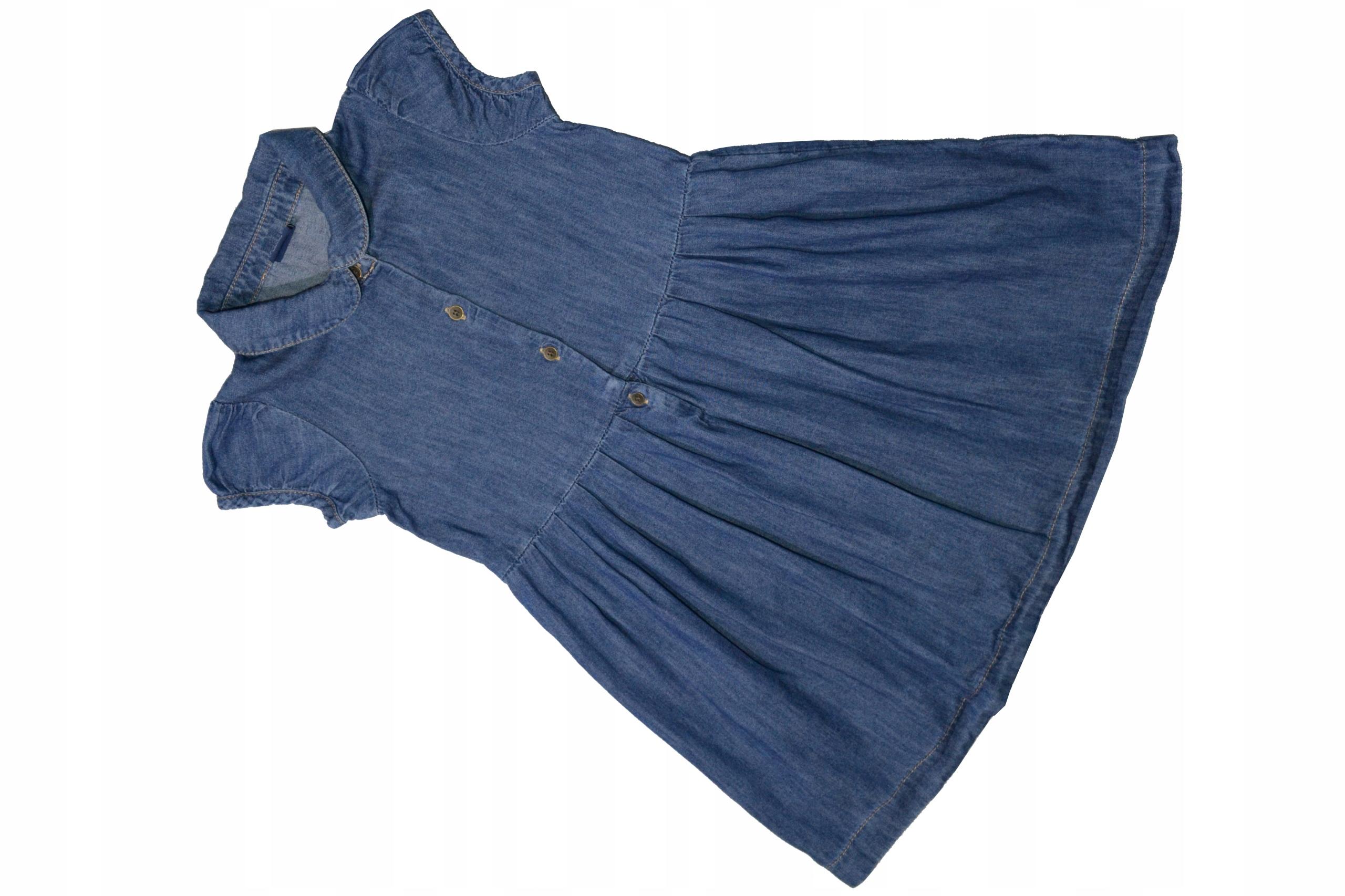 P874. GAP sukienka r. 110, 4-5 lat