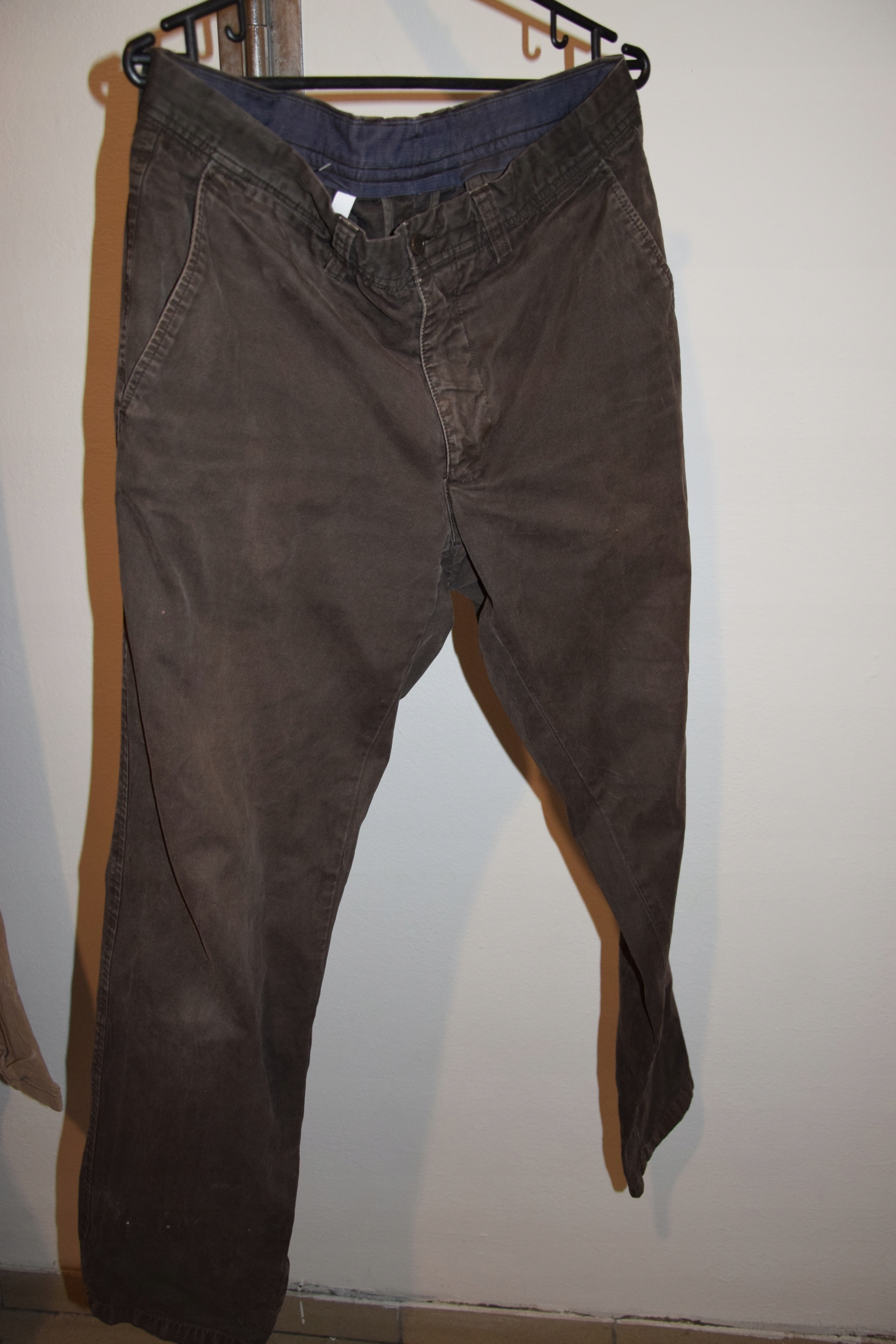 Massimo Dutti męskie spodnie brązowe 42/32
