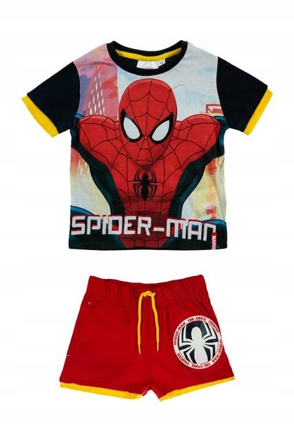 Komplet Bluzka i spodenki SPIDERMAN 104 Disney