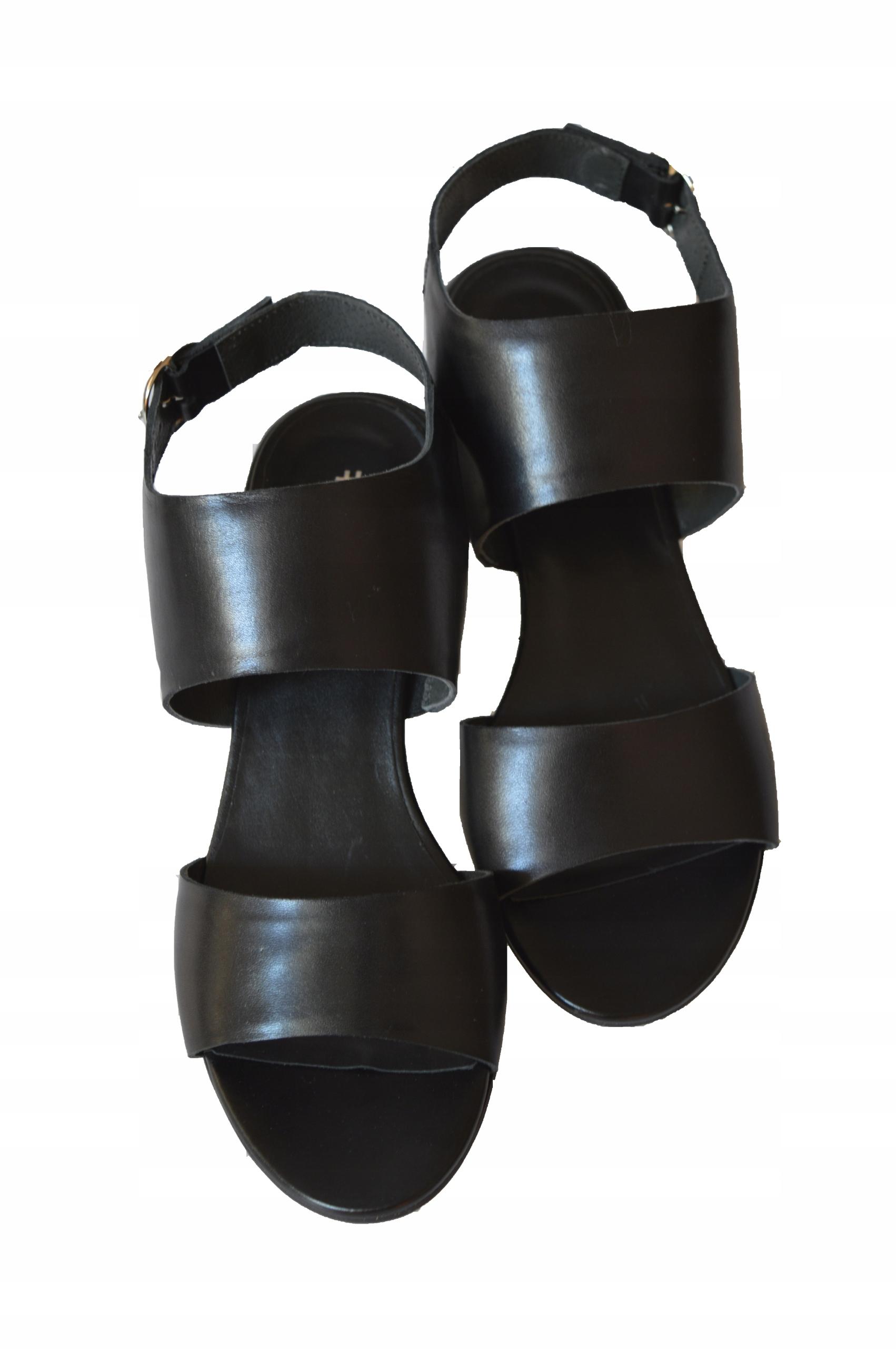Sandały Ryłko 5DGR2, damskie obuwie, roz. 40