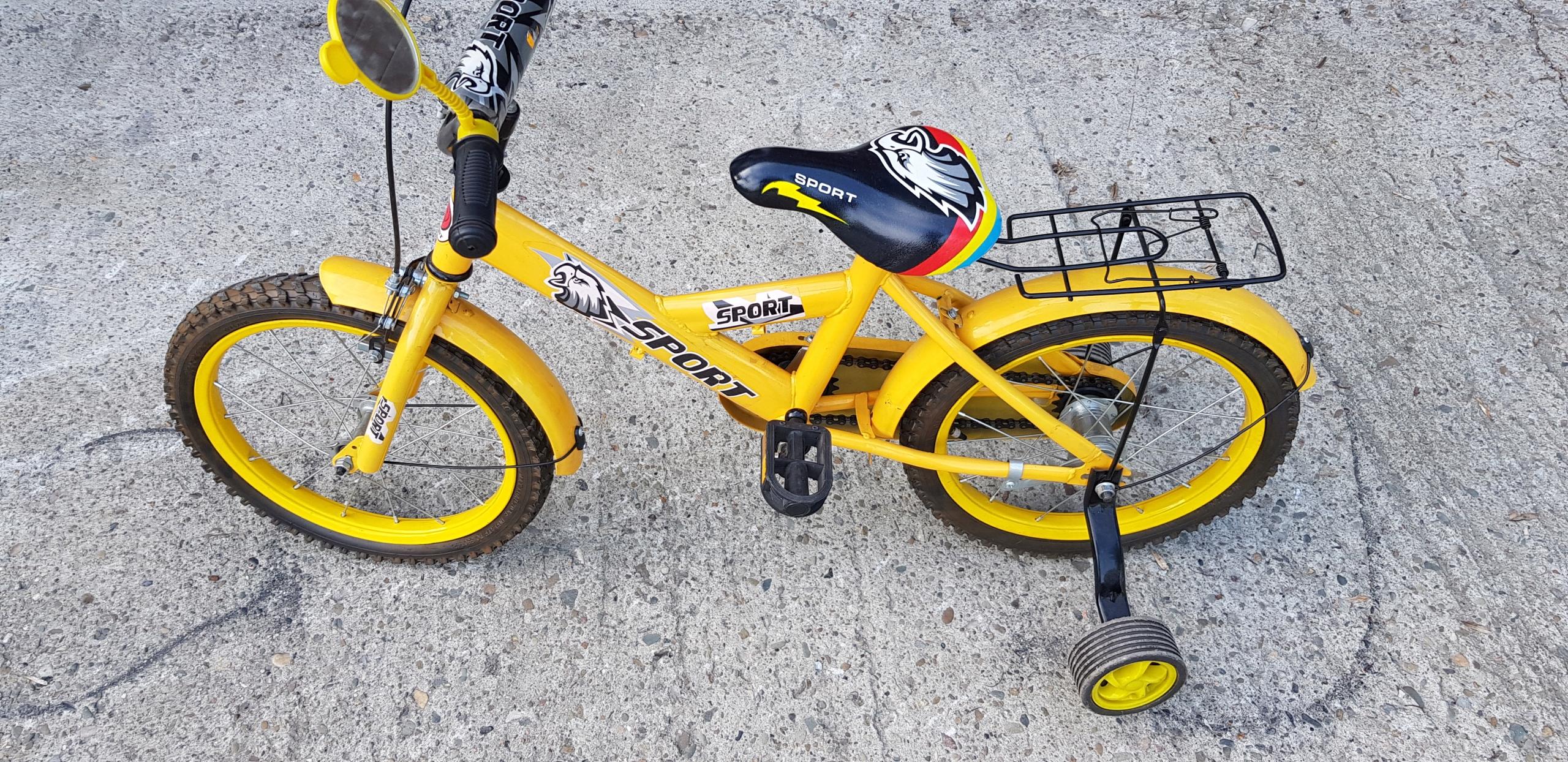 Rowerek rower dziecięcy Sport 16 idealny do nauki