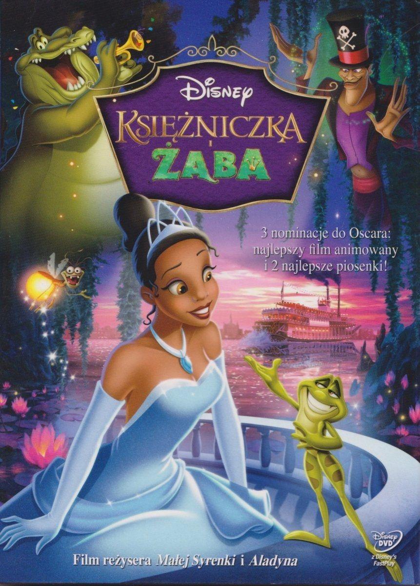 Księżniczka i Żaba DVD