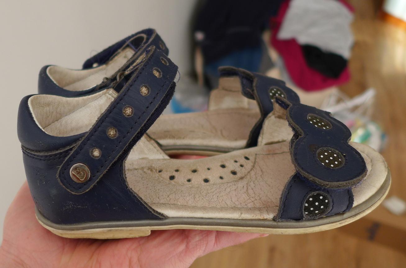 Sandałki skórzane Bartek 16167 r27