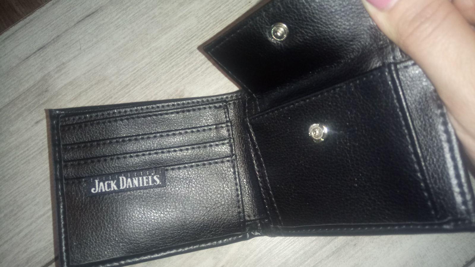 e62d7e2ba5532 Portfel Męski Jack Daniels Czarny na Prezent - 7093531036 ...