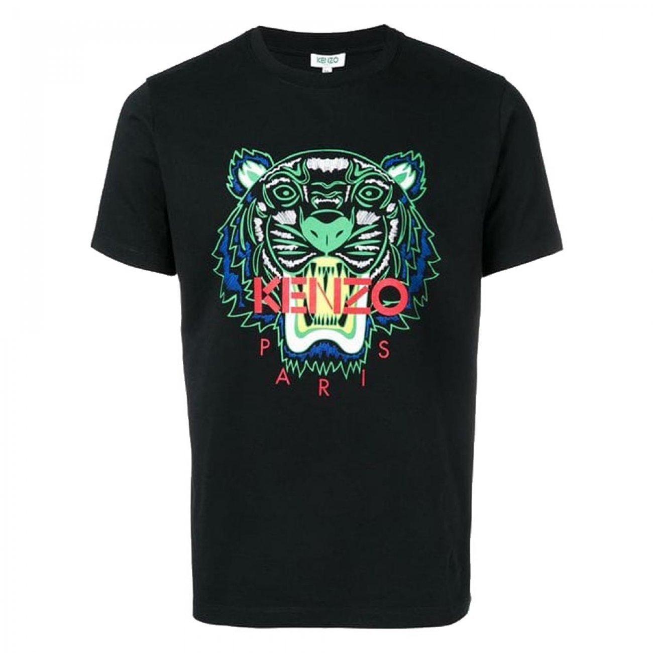 T-shirt Kenzo PARIS jakość Granatowy XXL
