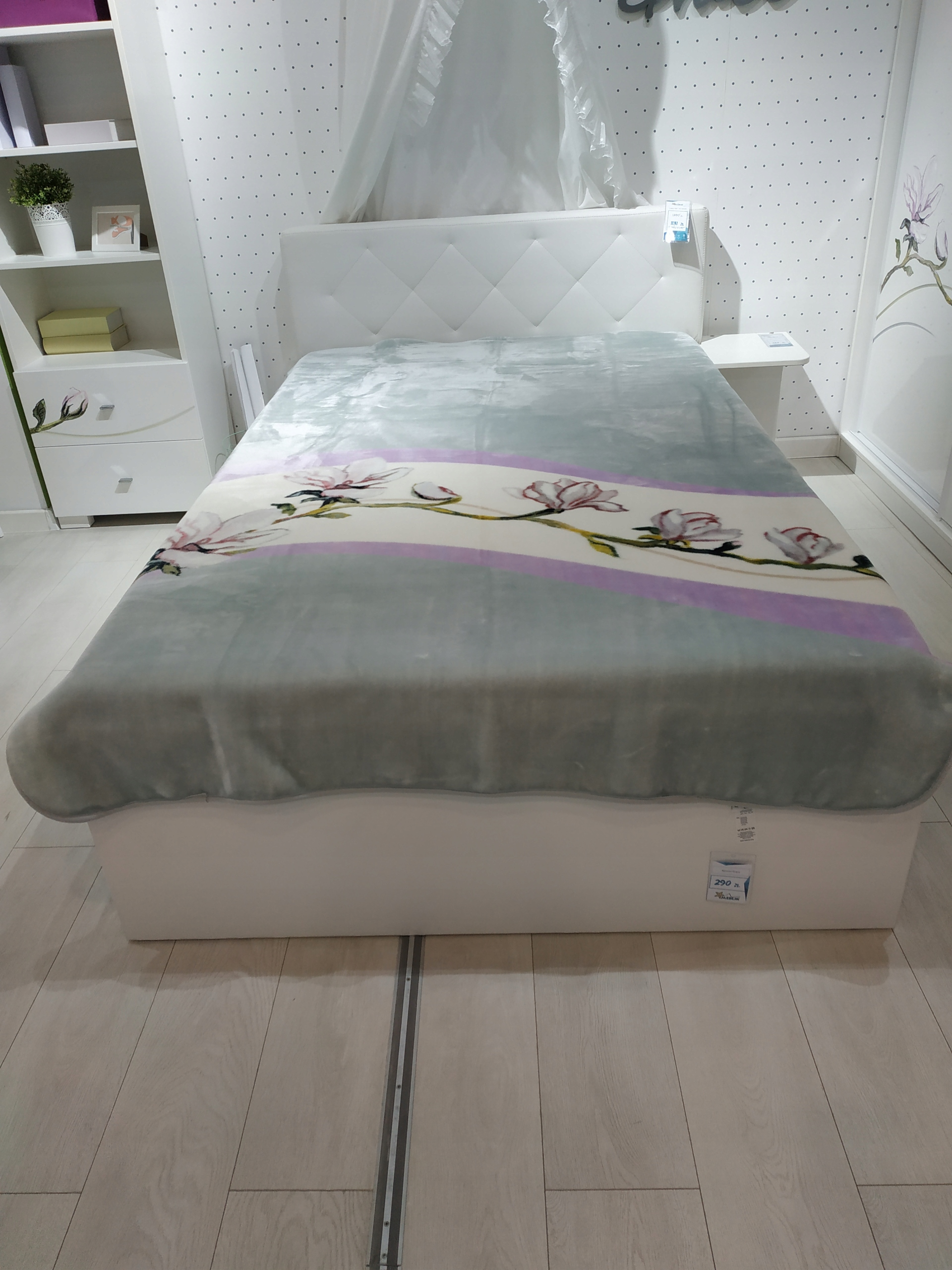 Meblik łóżko Grace Wyprzedaż Ekspozycji 7862587516