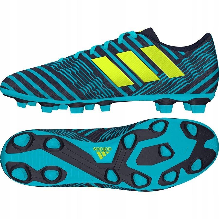Buty adidas Nemeziz 17.4 FxG S80608 - GRANATOWY 42