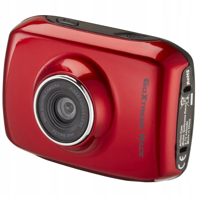 Kamera kamerka sportowa EasyPix GoXtreme Race Red