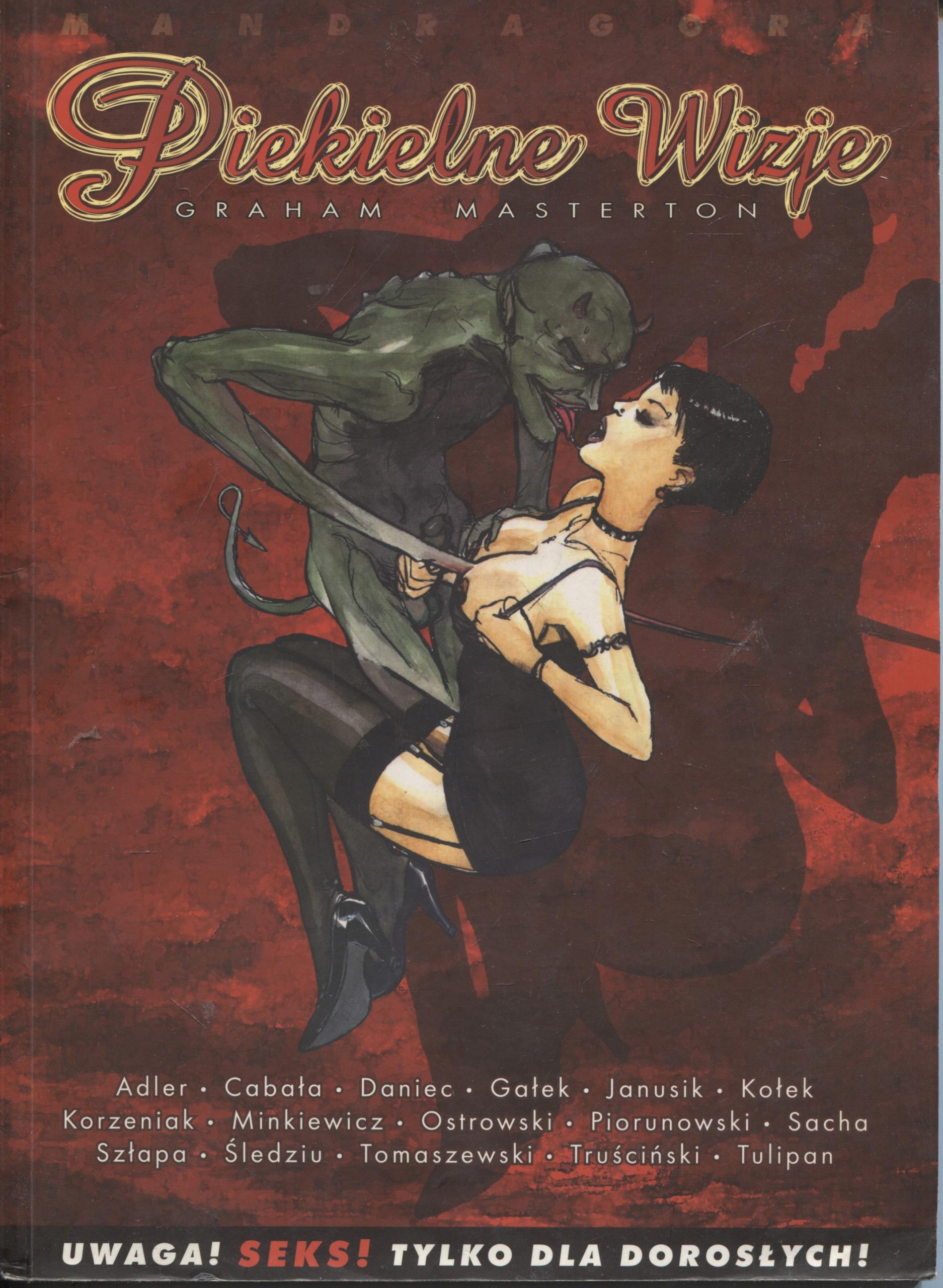 Piekielne wizje - Graham Masterton / komiks