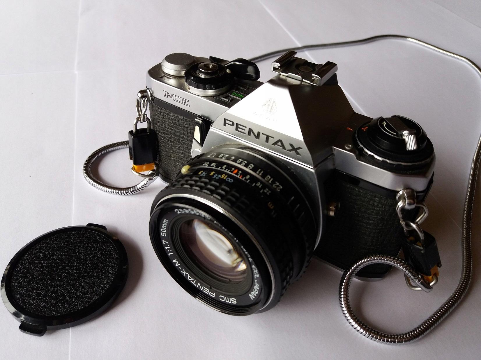 Pentax ME + SMC 1.7 50 mm + 135/3.5 + 400/5.6 BDB