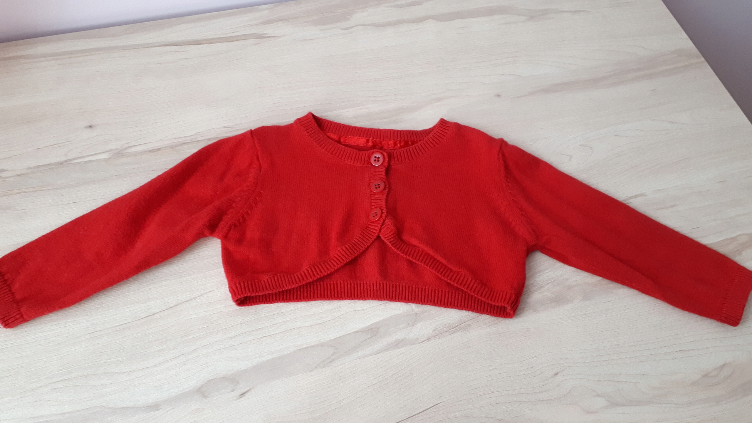 Sweterek-bolerko 6-9m-cy