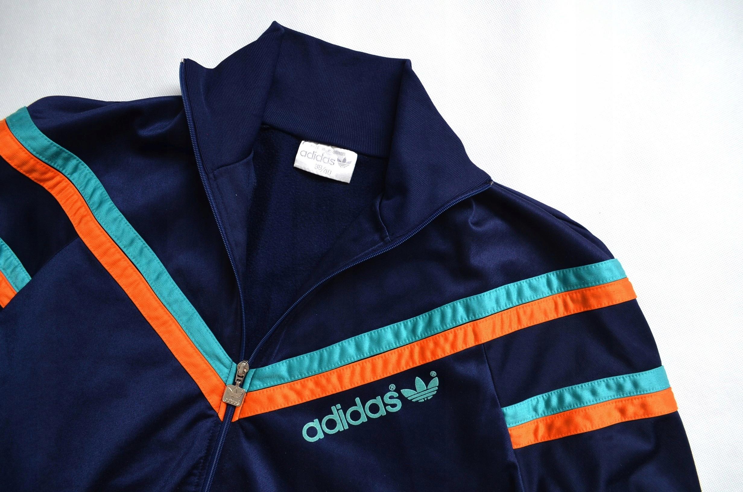 ADIDAS męska sportowa oldschool retro bluza r. ML