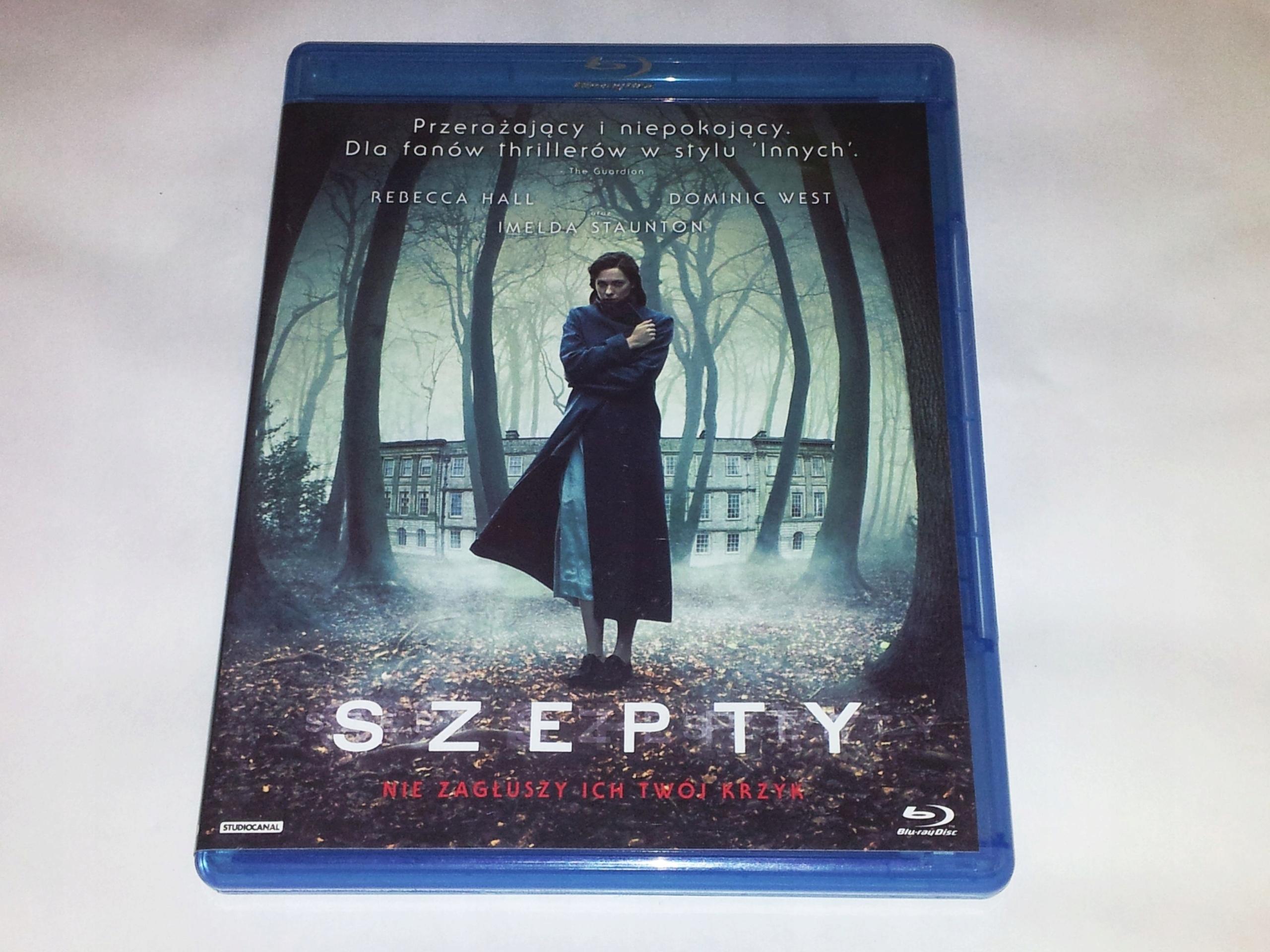 Szepty - Blu-ray - PL - Rebecca Hall - inne FILMY