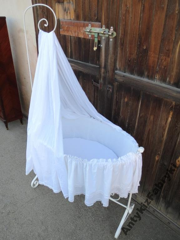 Kołyska łóżeczko Shabby Chic Prowansja Sypialnia