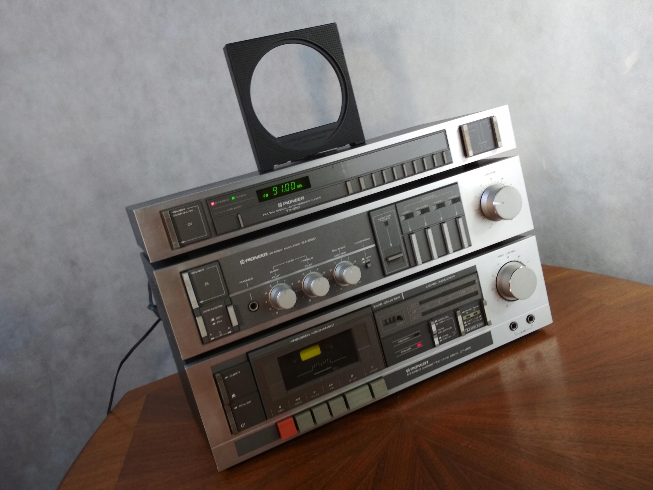 @ PIONEER SA-550 TX-950 CT-450 @ VINTAGE @ JAPAN @