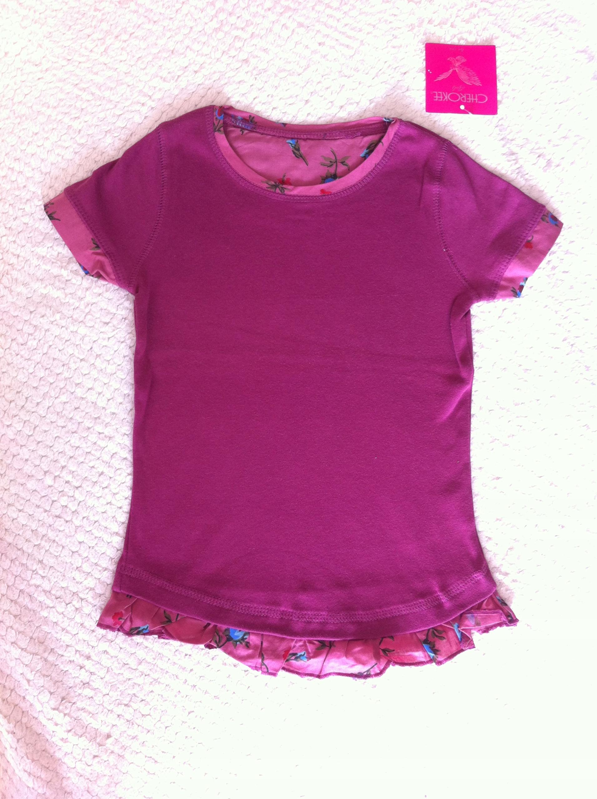 bluzka tunika CHEROKEE 2-3 latka dziewczynka 2 szt