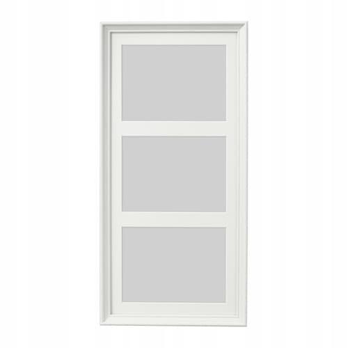 IKEA KNOPPANG Ramka na 3 zdjęcia biała bejca 23x50