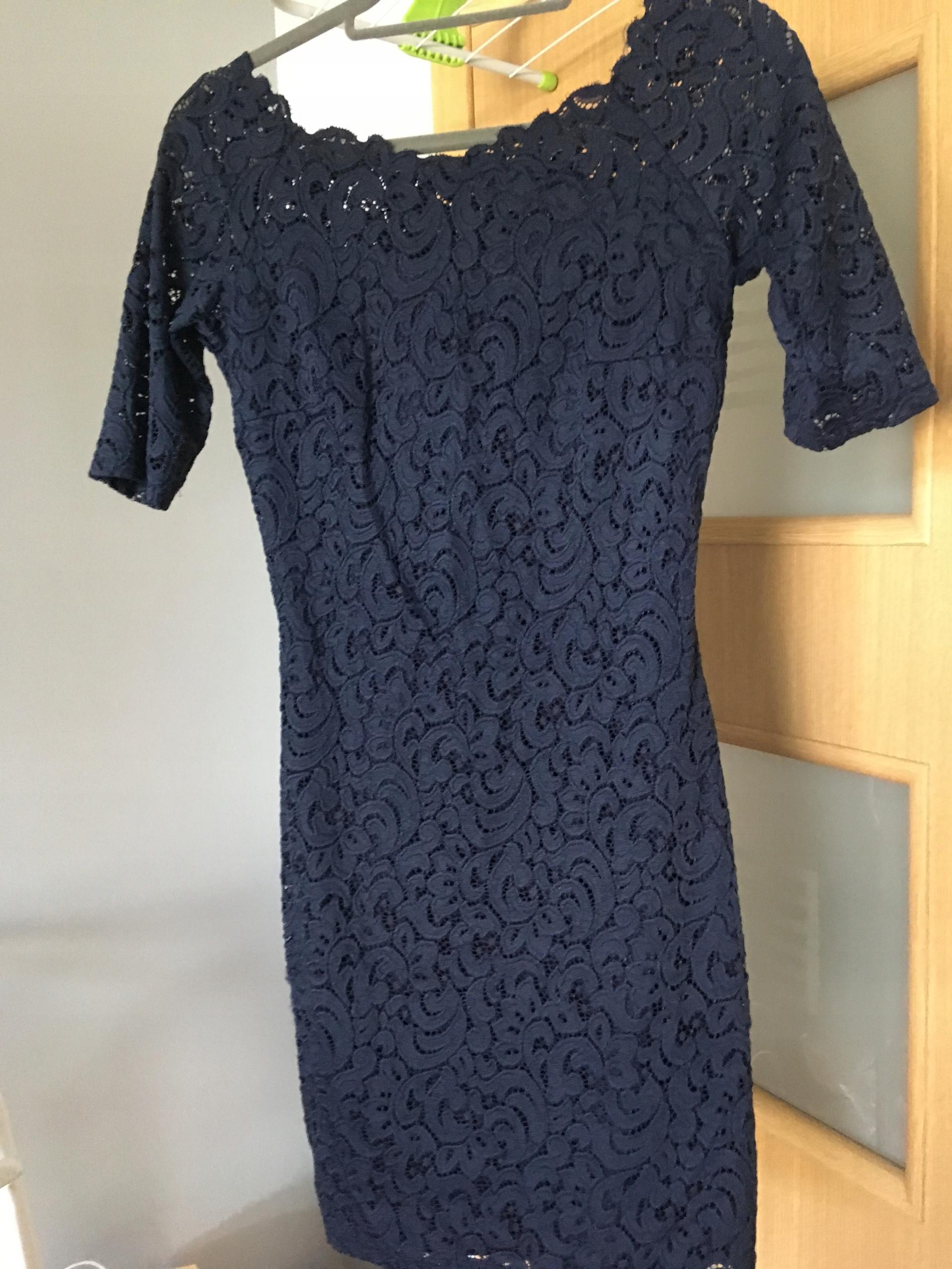 Elegancka, koronkowa sukienka na wesele Orsay r.38