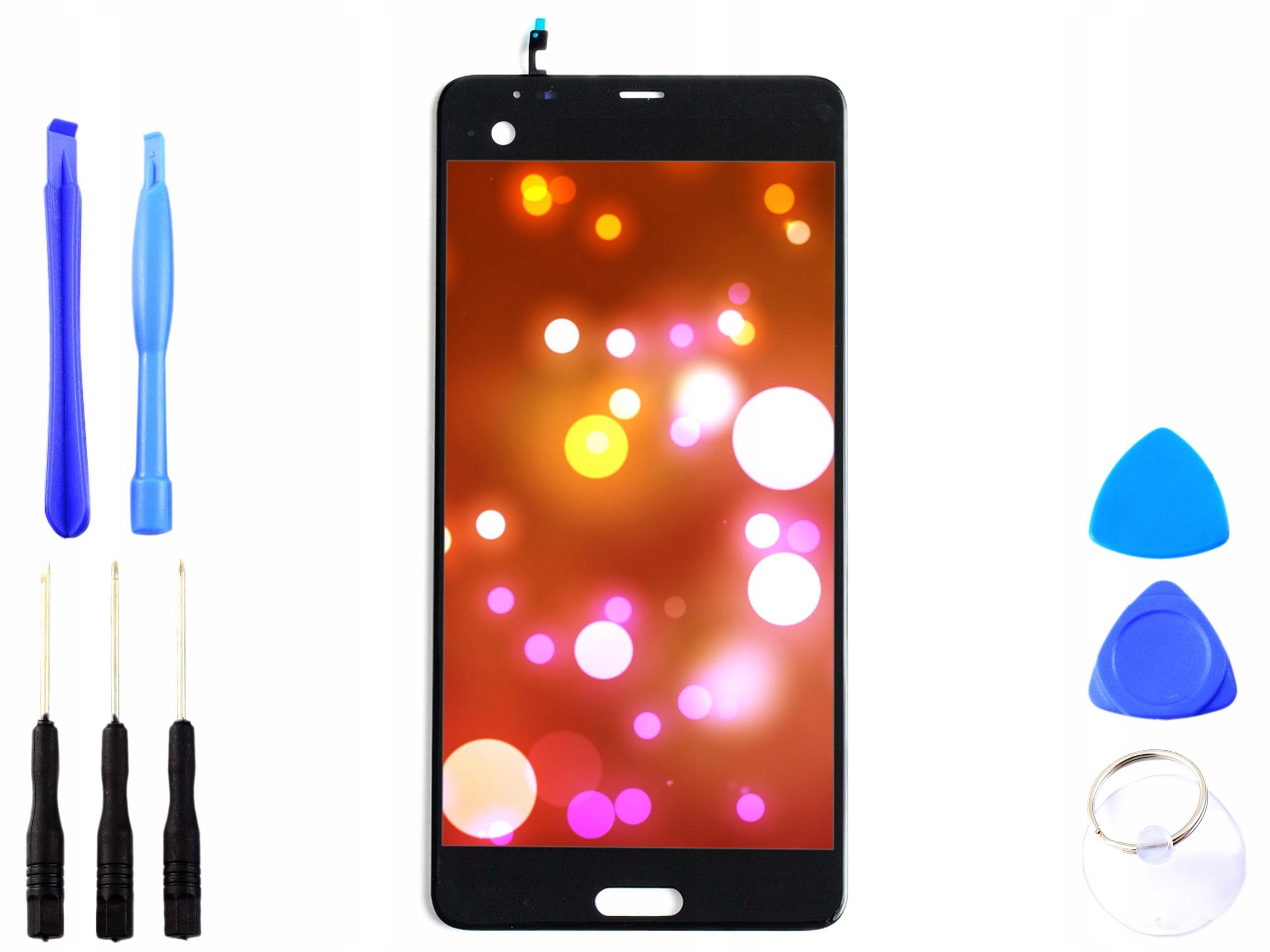 Wyświetlacz LCD digitizer dotyk HTC U ULTRA czarny