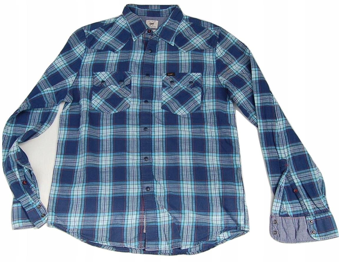 9S77 koszula męska świetna LEE S