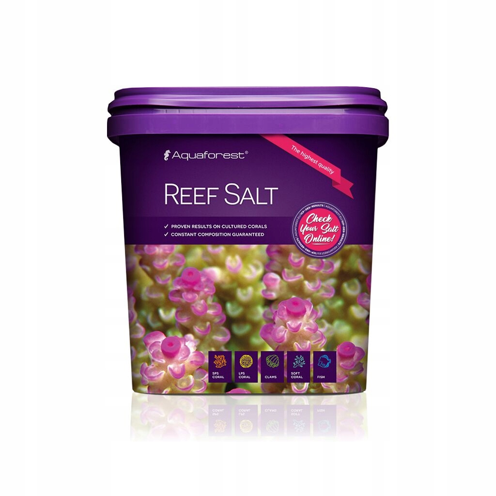 AQUAFOREST REEF SALT 5kg SÓL MORSKA