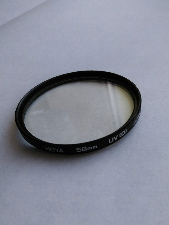 Filtr UV (0) 58mm / HOYA
