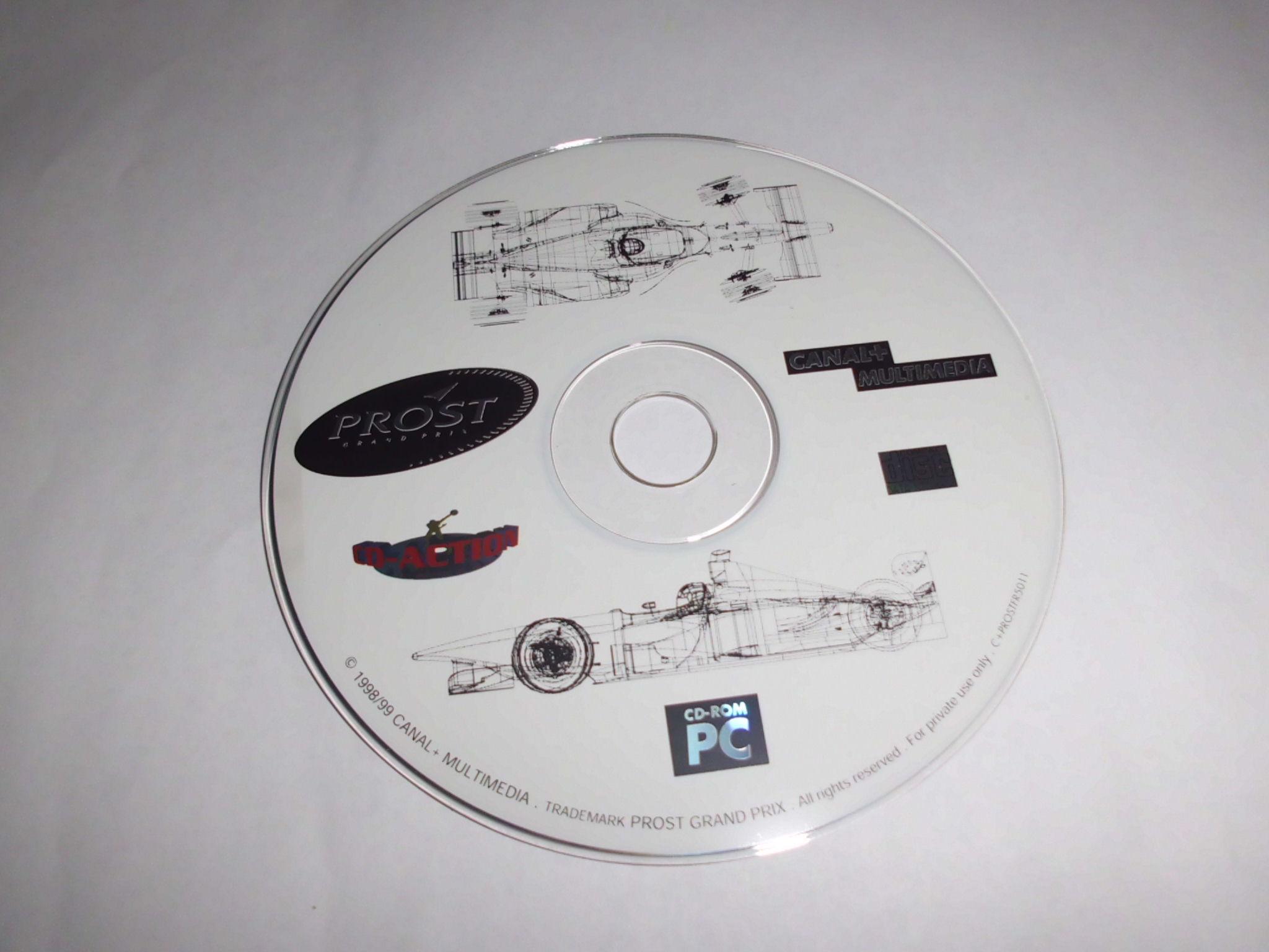 PROST GRAND PRIX (PC CD)