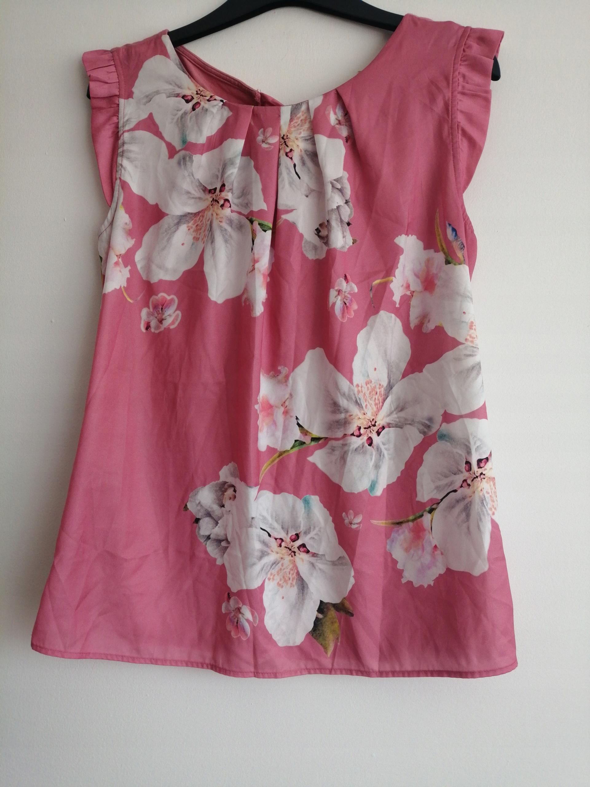 bluzka Orsay M floral print kwiaty