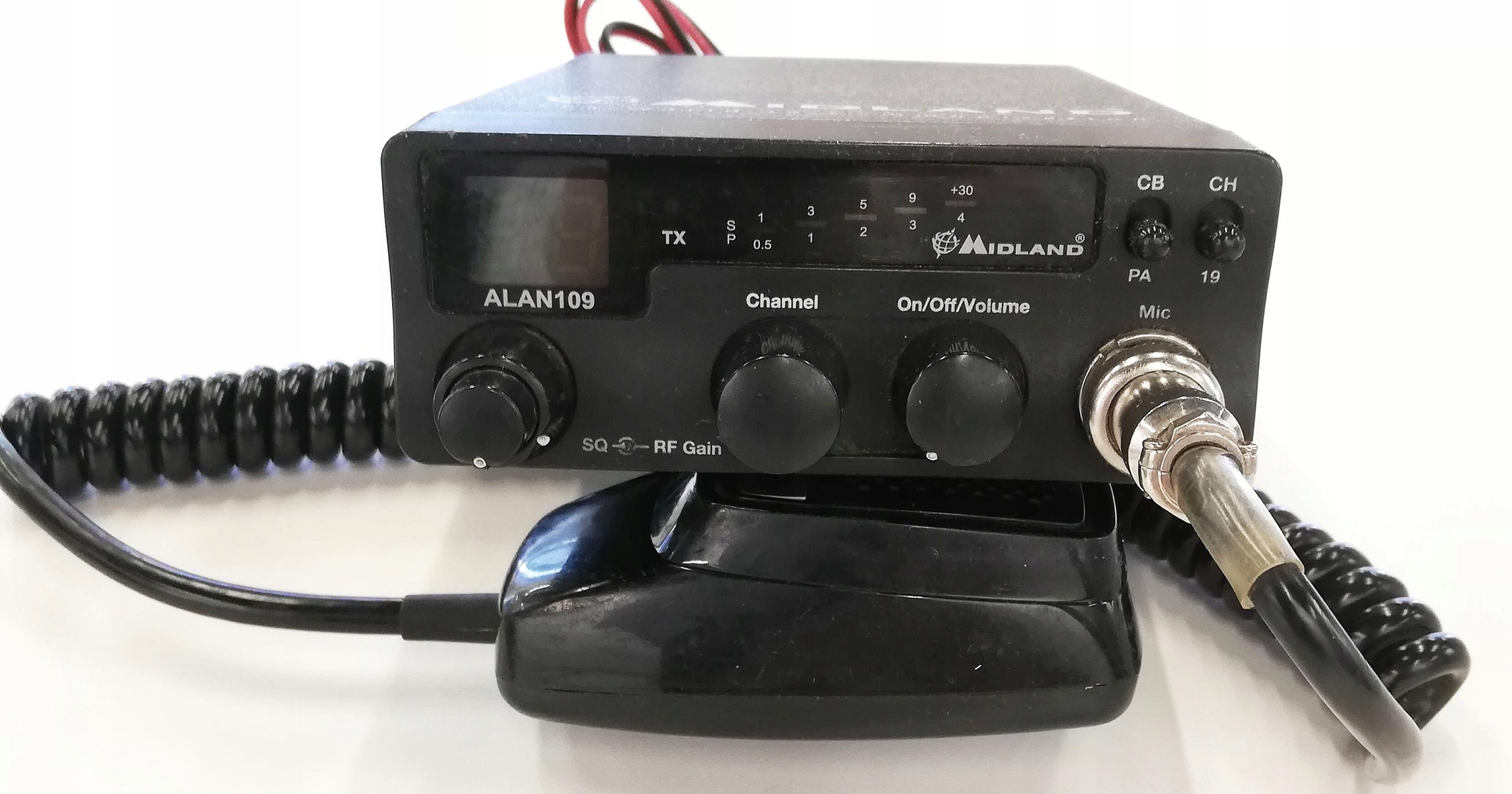 CB-Radio Alan 109
