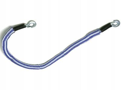 Linka holownicza elastyczna solidna 2T 4m