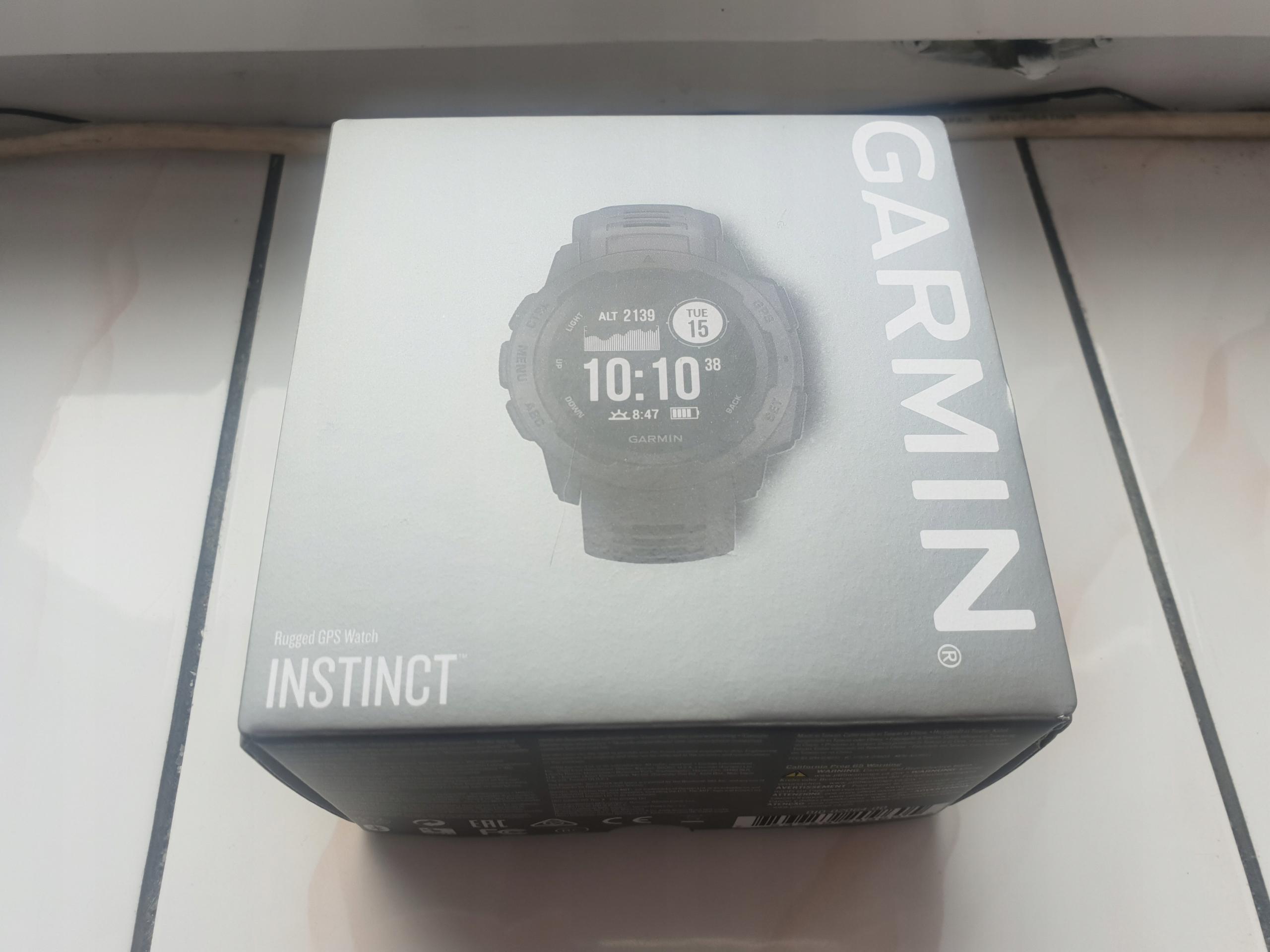 Garmin Instinct GPS, Baro, Kompas. Nowy