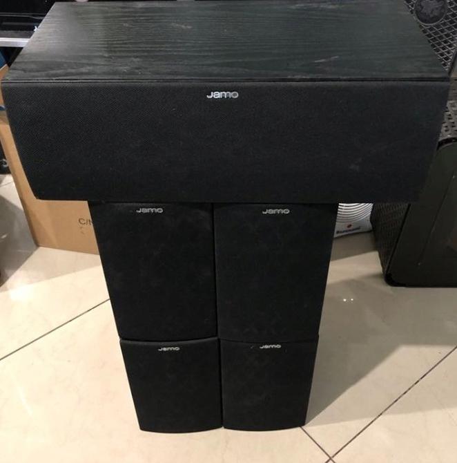 KOLUMNY JAMO 5.0 S60 SUR + JAMO S60 CEN