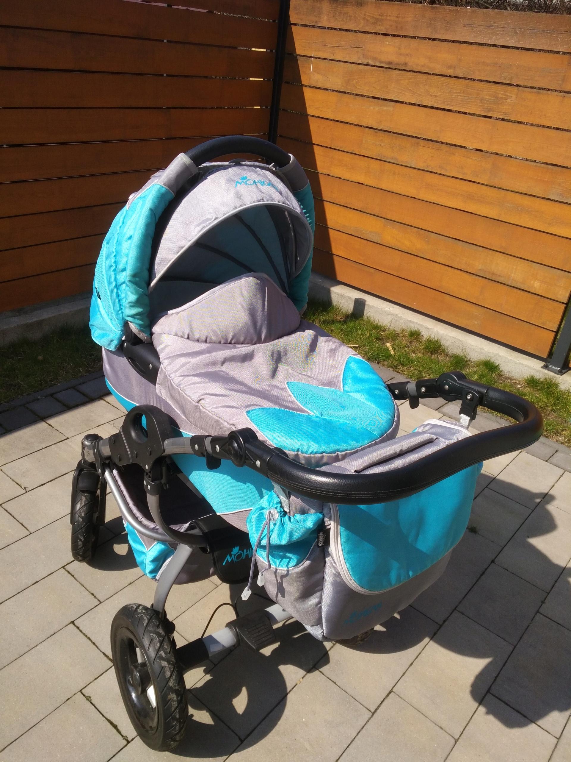 Wózek TAKO Mohican 3w1 Maxi Cosi stan BDB + Gratis