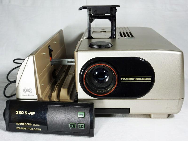 RZUTNIK - BRAUN PAXIMAT - 250 W slajdy, przeźrocza