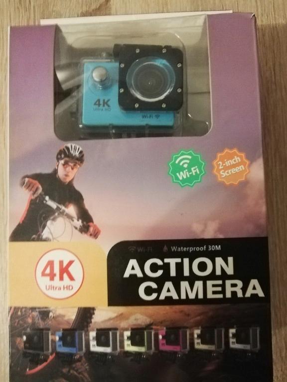 kamera sportowa action camera 4k