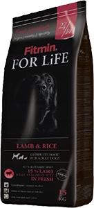 PRZECENA 65 Fitmin For Life Lamb & Rice 15kg