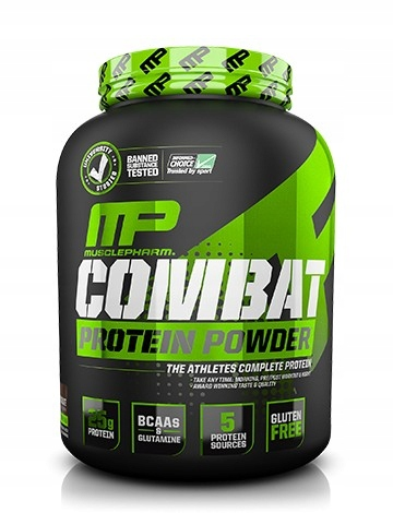 MusclePharm COMBAT PROTEIN POWDER 1814g Banan