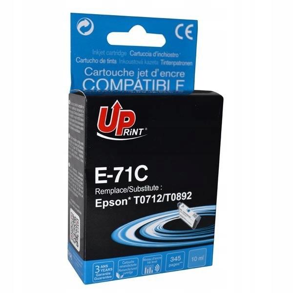 UPrint ink C13T07124011 cyan 10ml E-71C dla Epso