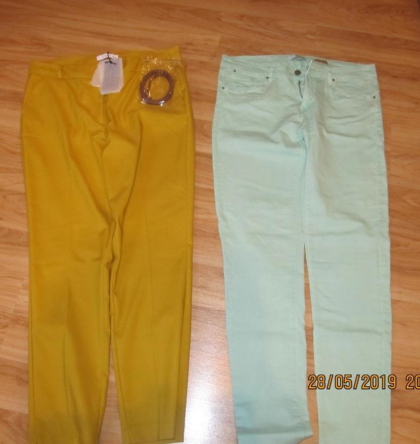 Dwie pary spodni Reserved 42 stan idealny