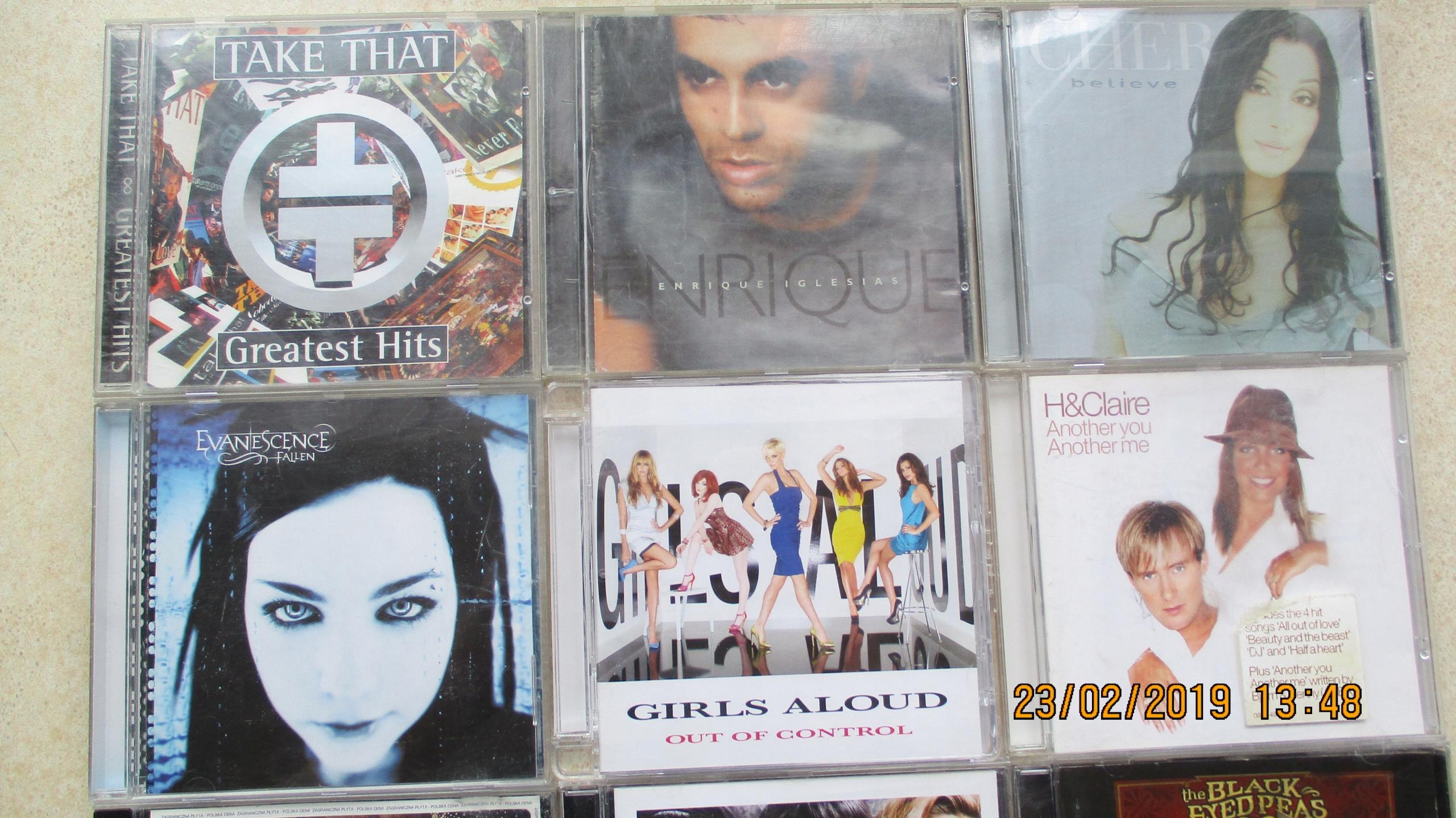PAKIET MUZYCZNY-20 CD - ALL SAINTS,CHER,FERGIE,!!!