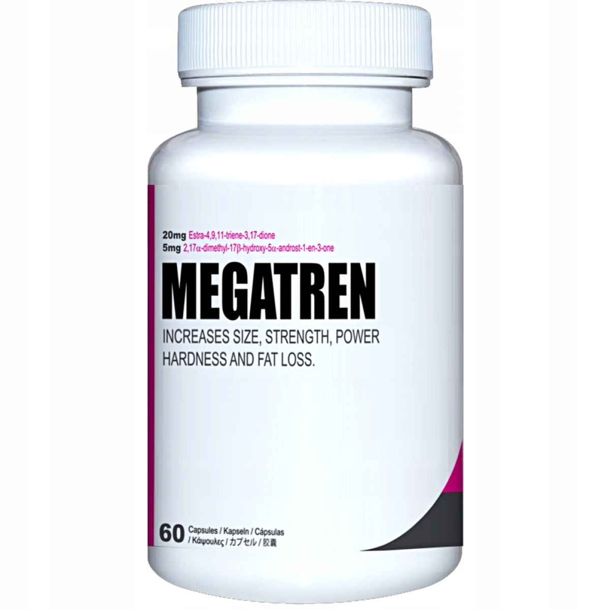 German Pharmaceuticals Megatren 60caps TREN SARMY